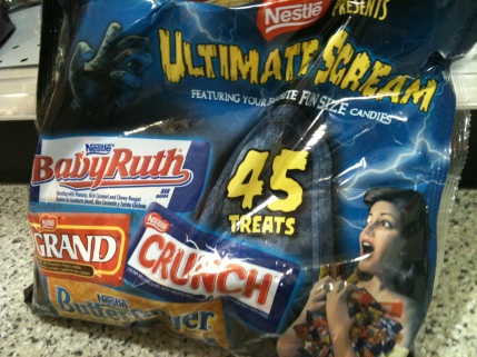 Ultimate Scream Candy Bag