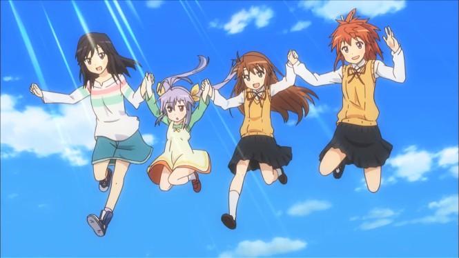 Characters from left to right: Hotaru, Renchon, Komari, Natsumi